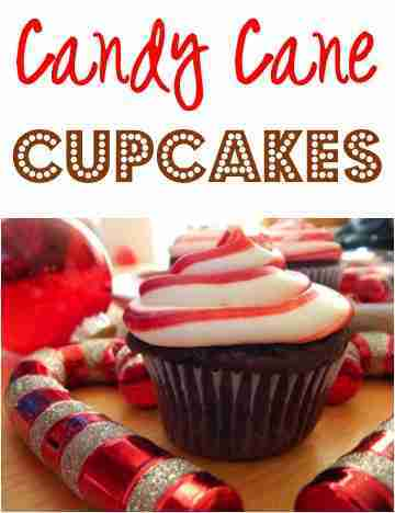 Candy Cane Cupcakes Recipes