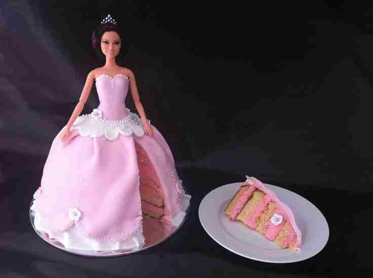 Princess Buttercream Cake