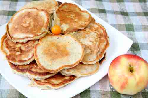 Amish Corncake Pancakes