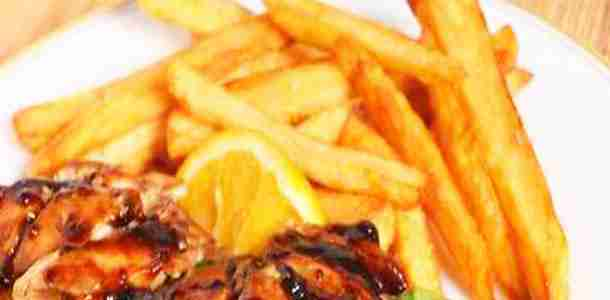 Apple Butter Barbecued Chicken