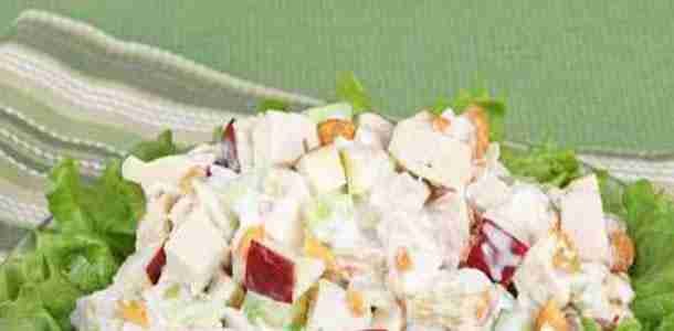 Apple and Walnut Chicken Salad