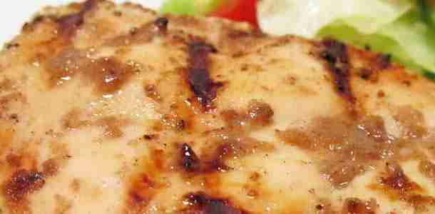 Applesauce Glazed Chicken