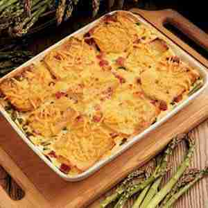 Asparagus Cheese Strata