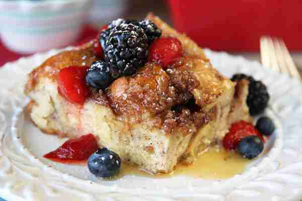 Baked Overnight French Toast