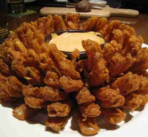 Blooming Onion with Creamy Dip