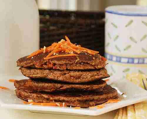 Carrot Tacos (pancakes)