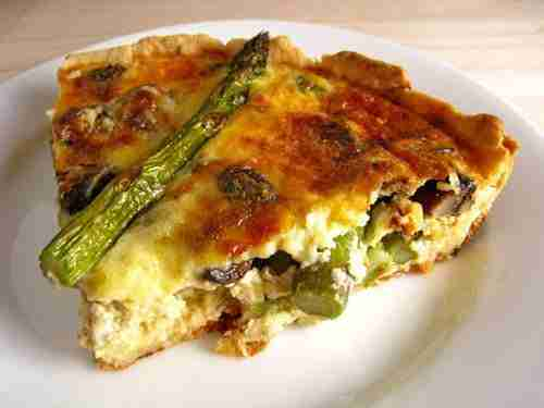 Grand Traverse Morel and Asparagus Frittata