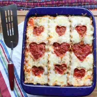 Heart Lasagna