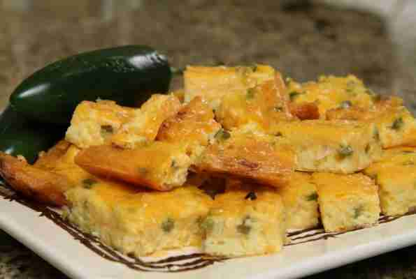 Jalapeno Cheese Squares