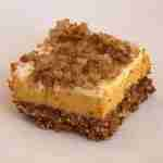 Pumpkin Cheesecake Crumble Squares