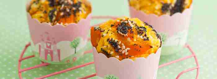 Pumpkin and Poppyseed Muffins