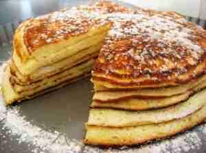 Slipped Pancakes (csusztatott Palacsinta)