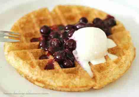 Sour Cream Belgian Waffles