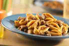 Stove-Top Cheeseburger Pasta