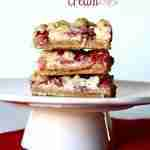 Strawberries and Cream Bars