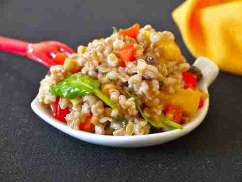 Wild Wheat Salad