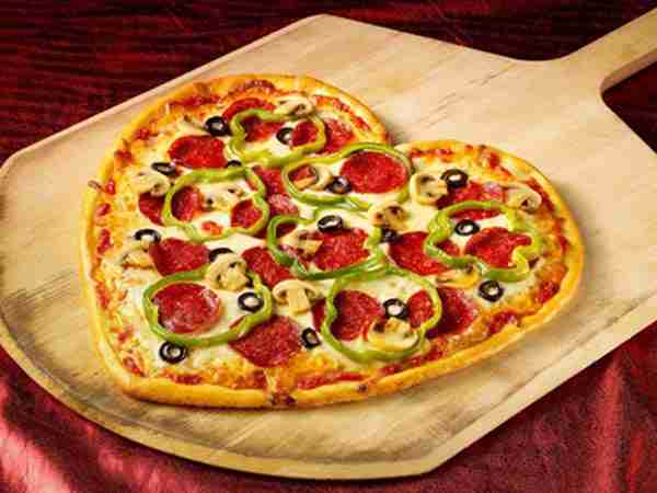 Valentine's Day Recipe: Heart-Shaped Pizza