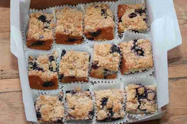 Basic Blueberry Buckle