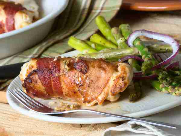 Bacon And Cheese Stuffed Chicken Breast Recipe