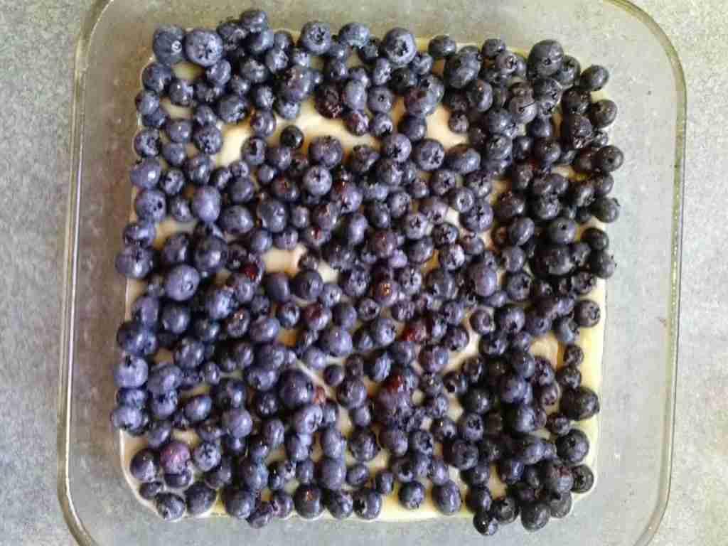 Buttermilk Blueberry Buckle