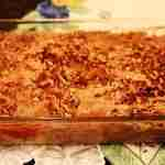 Easy Apple Crisp with Cake Mix