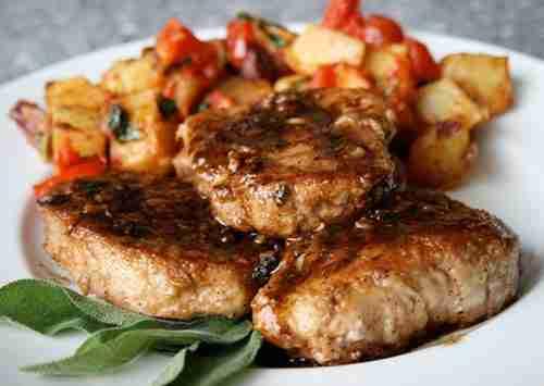 Easy Balsamic Pork Chops