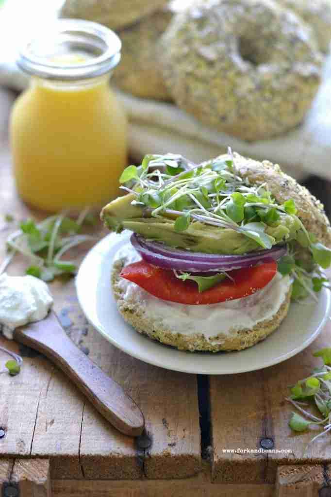 Gluten-Free Vegan Everything Bagels