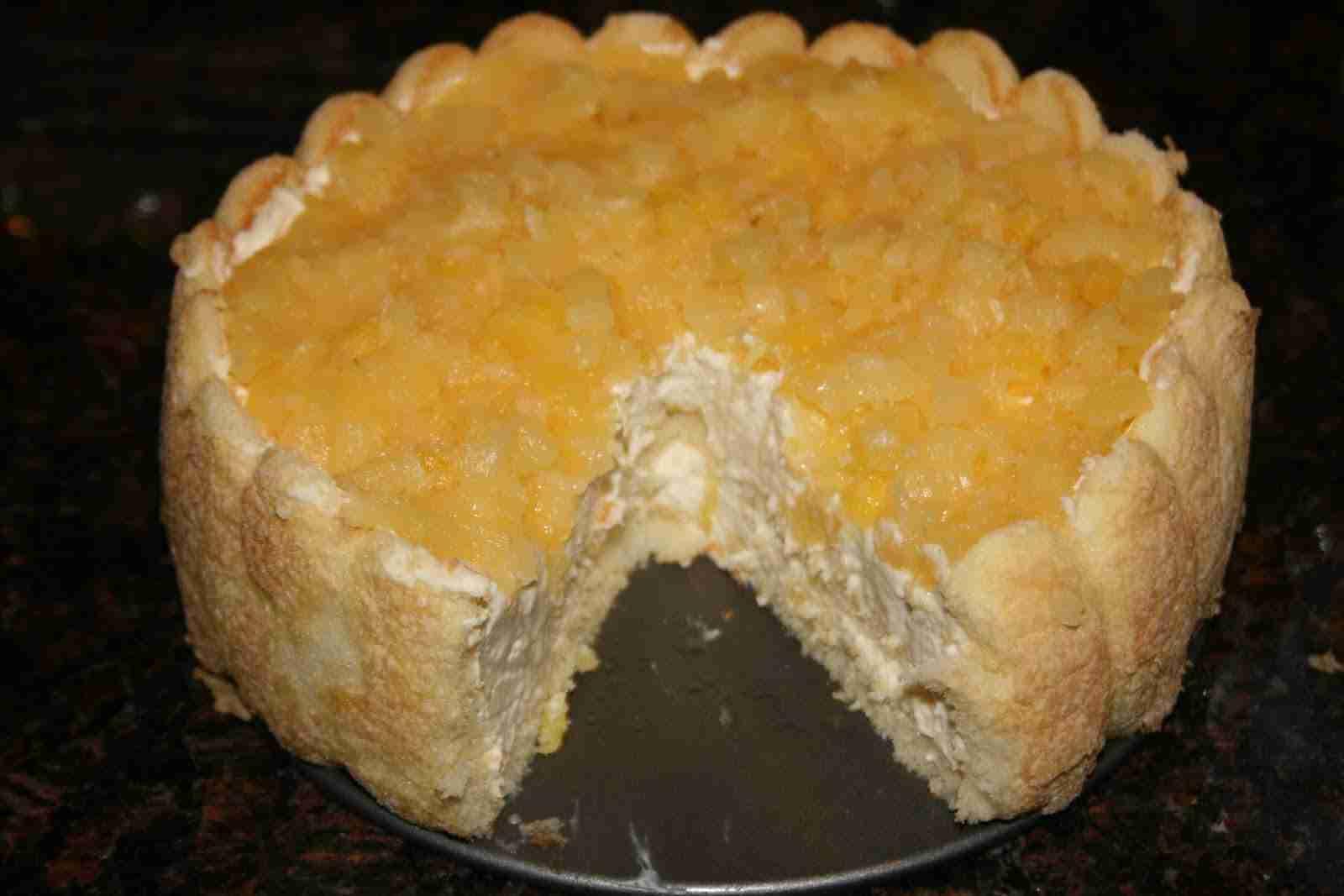 Incredibly Easy No Bake Pineapple Cheesecake Foodvox Com