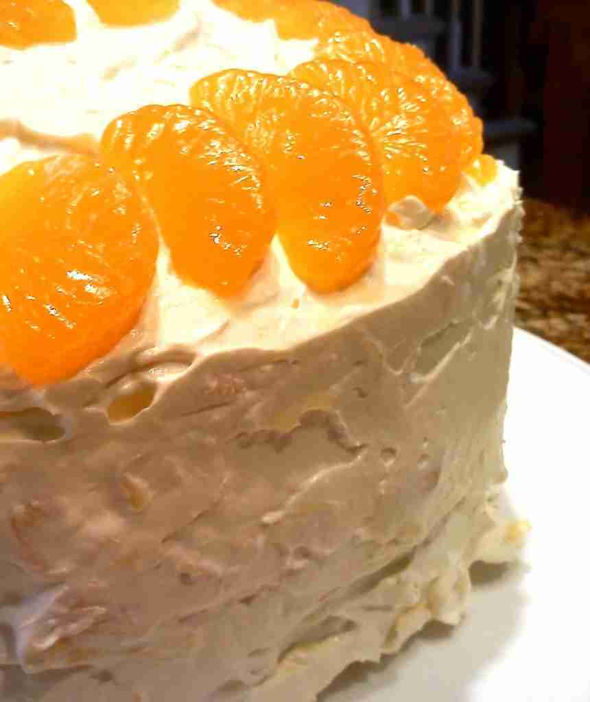 Mama's Mandarin Orange Cake