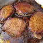 Mango and Brown Sugar Glazed Pork Chops