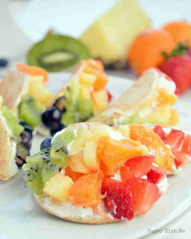 Mini Fruit Tacos