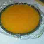 Double Orange Jello Refrigerator Cake