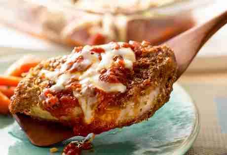 Pork Chop Mozzarella
