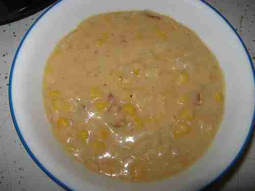 Potato and Double Corn Chowder