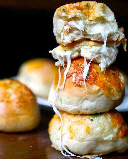 Stuffed Cheese Buns