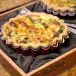 Sun-Dried Tomato and Spinach Quiche