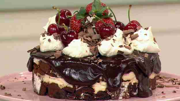 Black Forest Trifle is yummy to eat and it is easy to prepare too ...