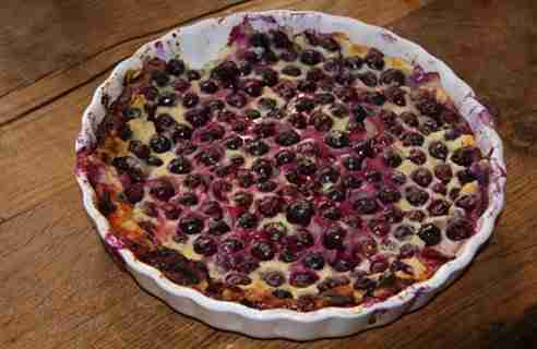 Blueberry Clafoutti