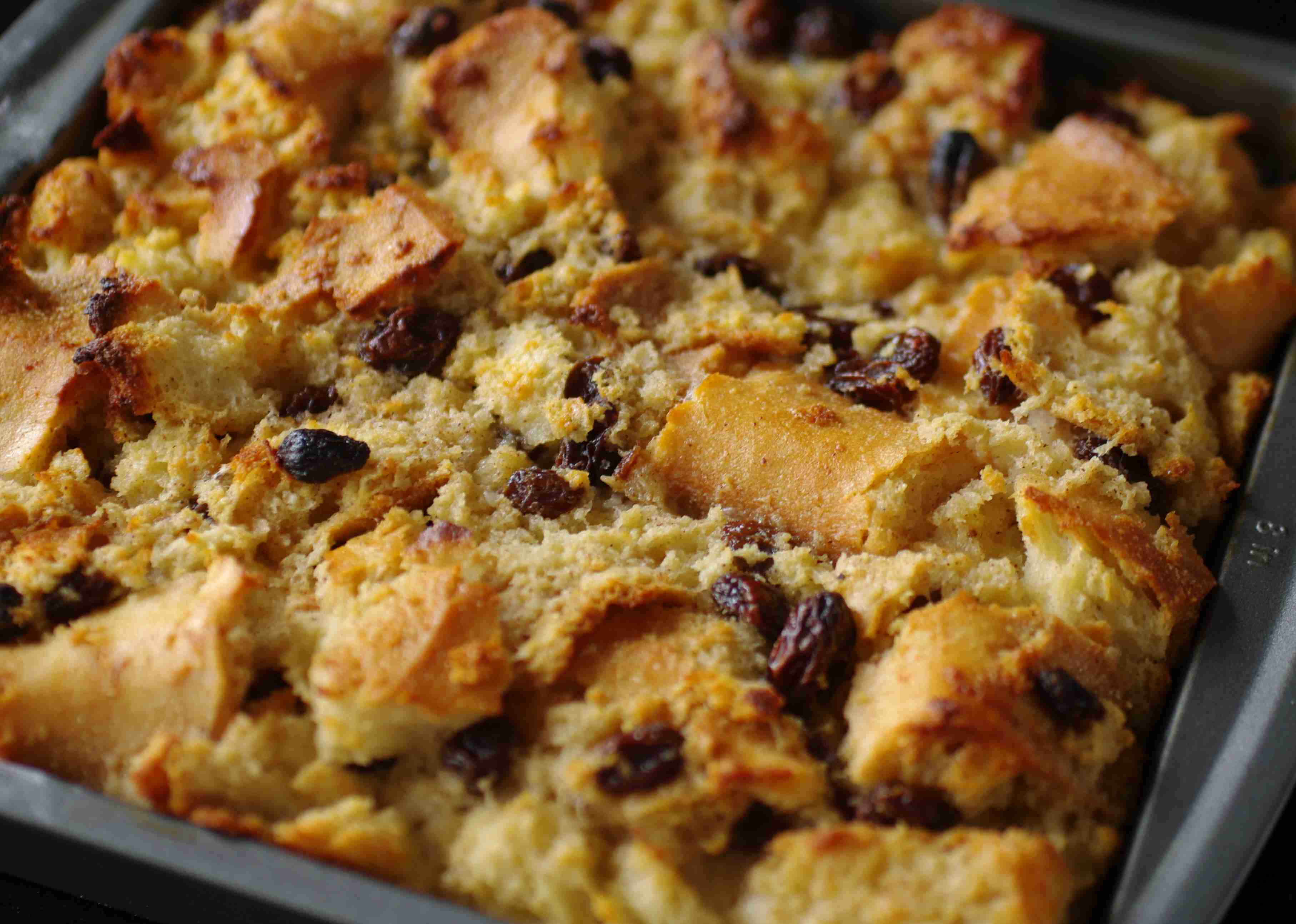 Bread Pudding W/ Whiskey Sauce