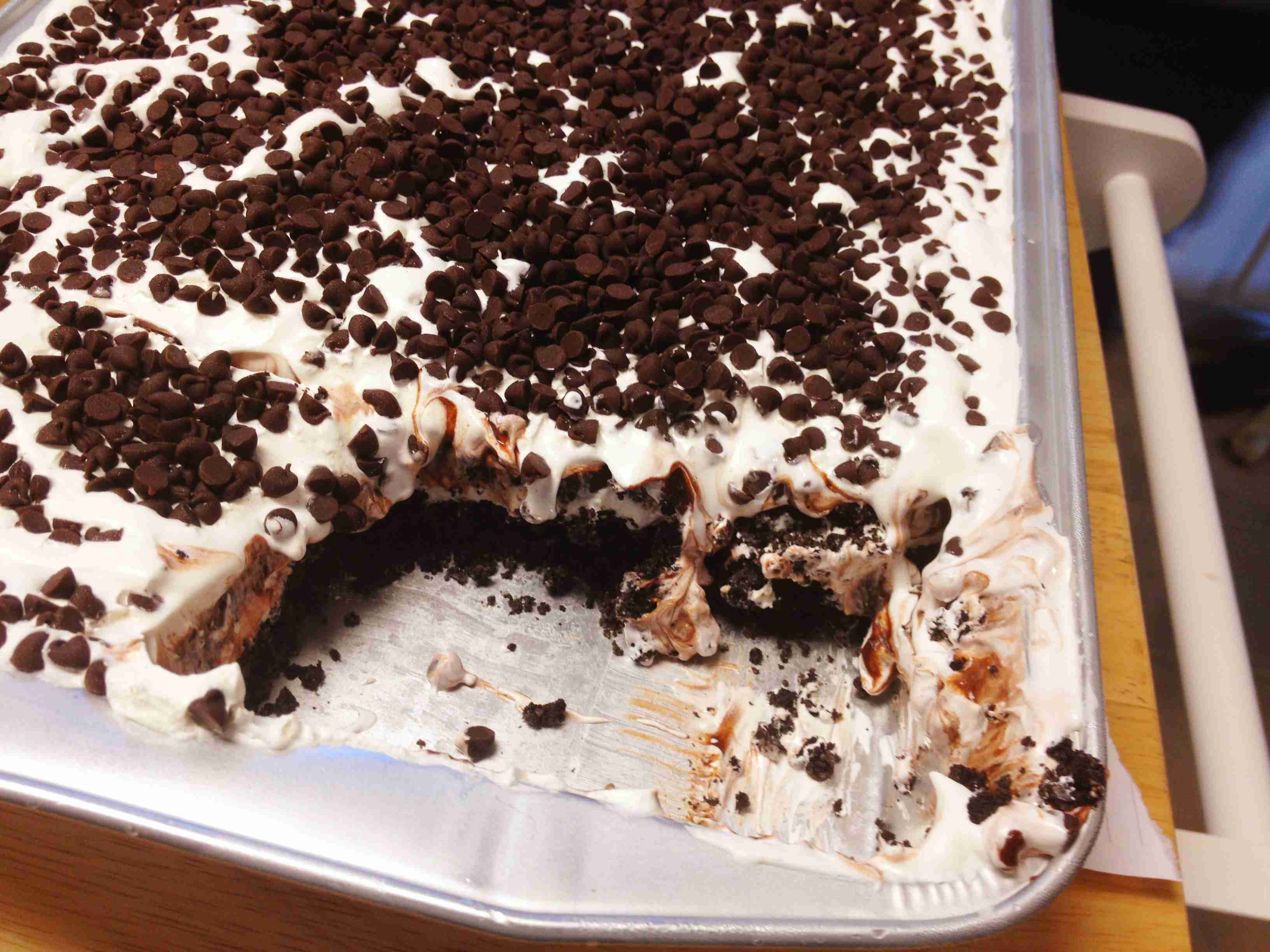 Crazy Good Chocolate Lasagna