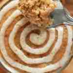 3 Minute Cinnamon Roll Mug Cake