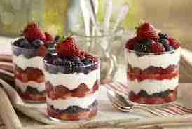 Raspberry Tiramisu Trifle