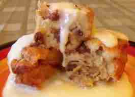 Bread Pudding (easy)