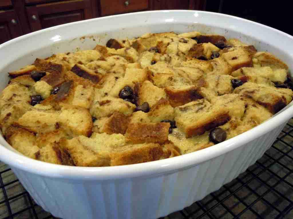Chocolate Cinnamon Bread Pudding | FoodVox.com