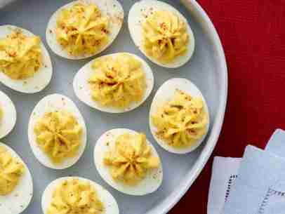 Spicy Devilish Eggs