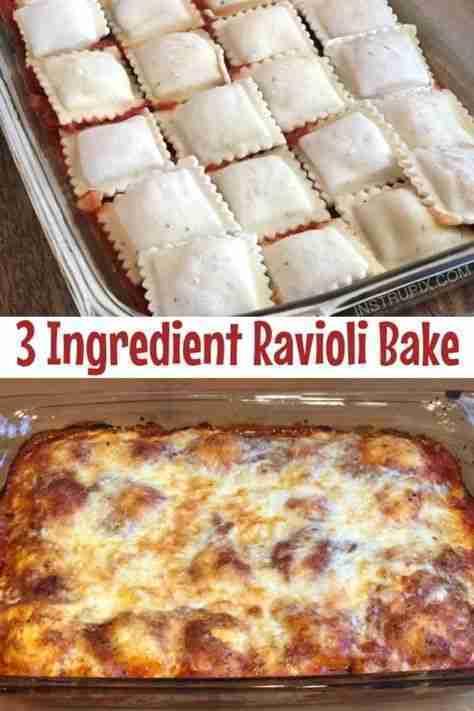 Easy Ravioli Bake