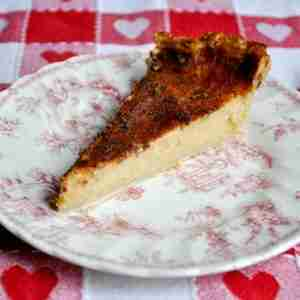 Cider Custard Pie
