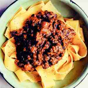 Lentil Bolognaise From 'Eat: The Tiny Book of Fast Food'
