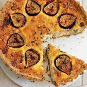 Fig & Blue Cheese Tart