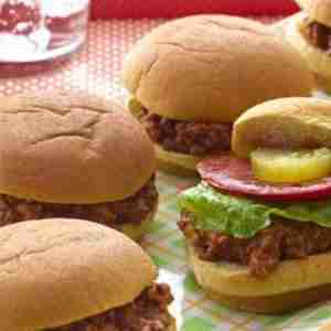 Smoky Joe Sliders Recipe